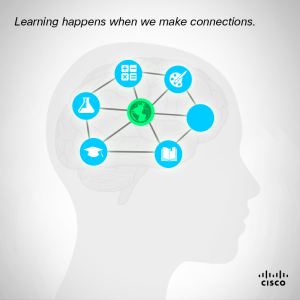 Learning happens when we make connections