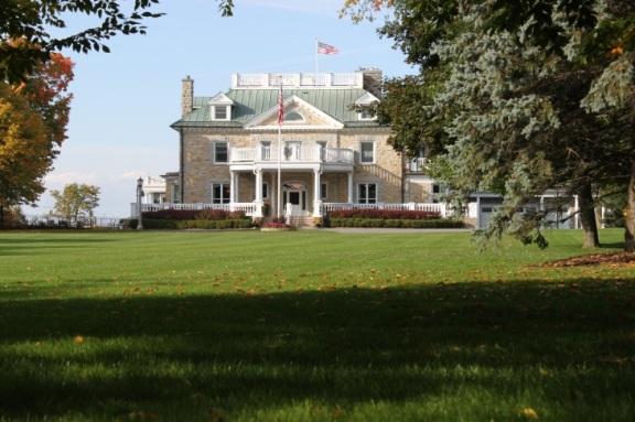 "Lovingly called ""Lornado,"" the house has been home to U.S. Ambassadors since 1935."